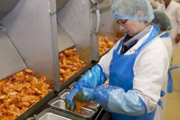 Operator în fabrica (Olanda)