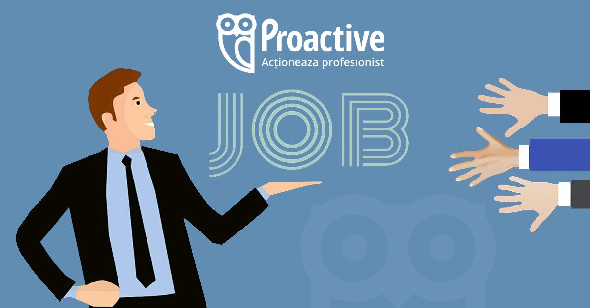 Manager vânzări la Proactive