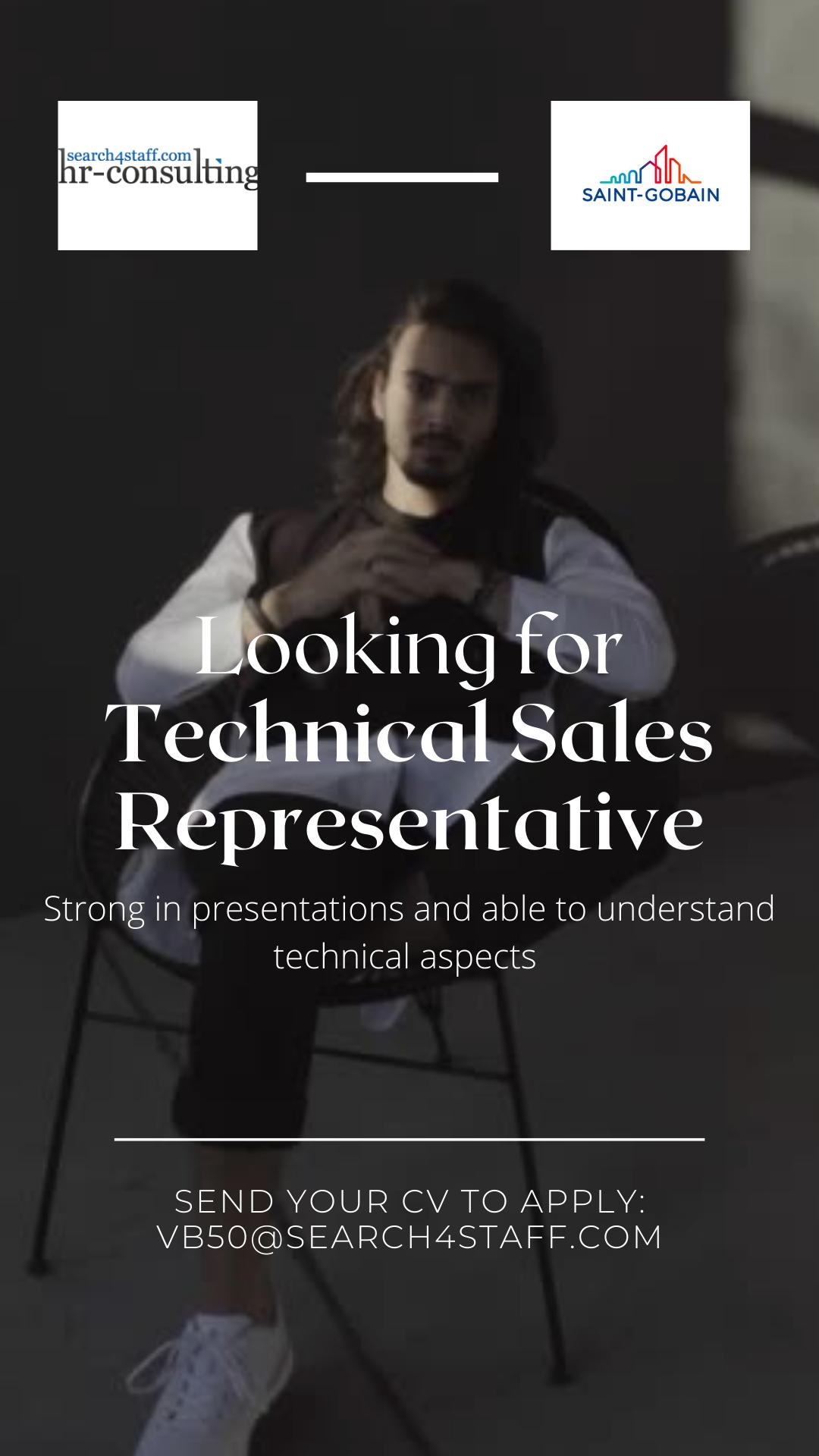 Reprezentant vânzări tehnice